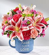The FTD ® Be Blessed™ Bouquet - VASE INCLUDED