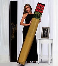 The Ultimate Rose Bouquet - 12 Stems, 5 Foot Roses