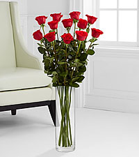 The Ultimate Rose Bouquet - 12 Stems, 3-Foot Roses
