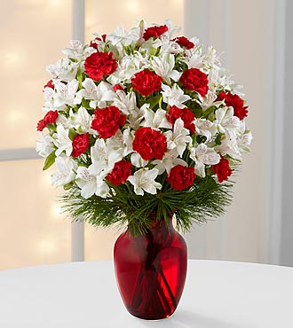 Christmas Flowers Gorgeous Greetings Holiday Bouquet