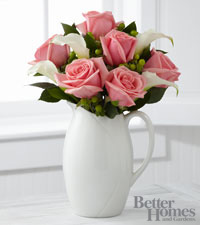 The FTD&reg; Elegant Outlooks Bouquet by Better Homes and Gardens&reg; - VASE INCLUDED
