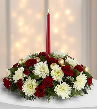 Christmas Centerpiece Light & Love Holiday Centerpiece