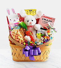 Bunny Kisses and Easter Wishes Gift Basket