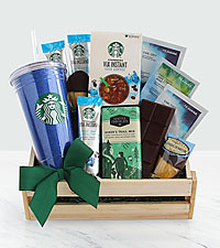 Summertime Iced Coffee Starbucks Gift Basket