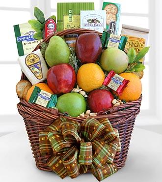 Fall Harvest Fruit Basket - Best