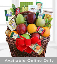 Fruitful Greeting Gourmet Basket - Best