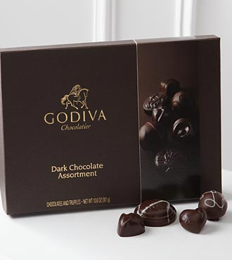 Godiva® Dark Chocolate Gift Box - 27-pieces