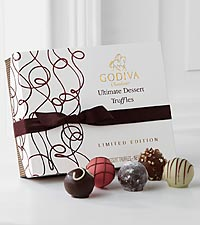 Godiva® Limited Edition Ultimate Dessert Truffles - 12-piece