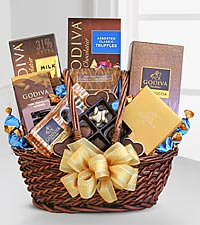 Godiva&reg; Greetings Basket