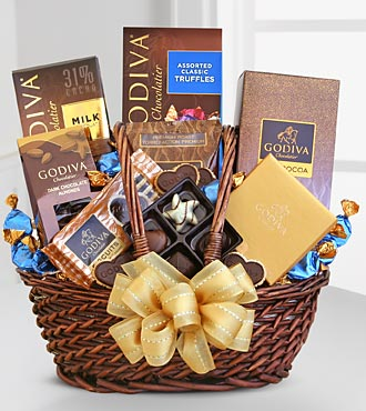 Godiva Greetings Basket