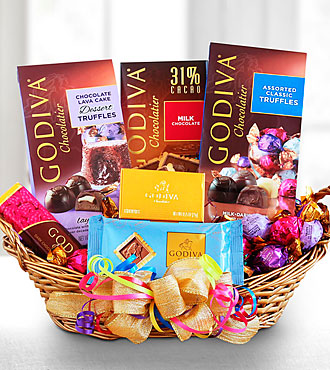 Godiva Chocolate Lover Birthday Surprise