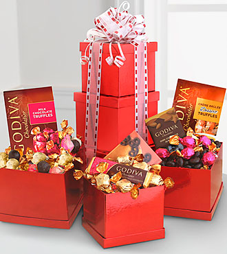 FTD Godiva Heights of Passion Tower