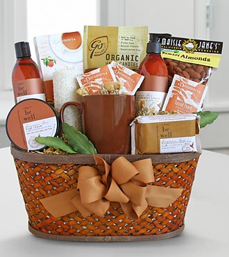 FTD Amber Soothing Spa and Gourmet Basket