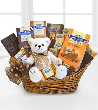 Ghirardelli&reg; Caramel Hugs of Chocolate