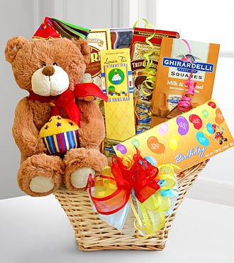 Gift Baskets Birthday Celebration Basket