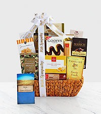 Caring Condolences Sympathy Basket
