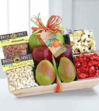 California Organic Farmstand Fruit and Nuts
