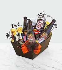 Trick or Treat Root Beer & Snacks