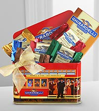 Ghirardelli® Cable Car Chocolate Treats