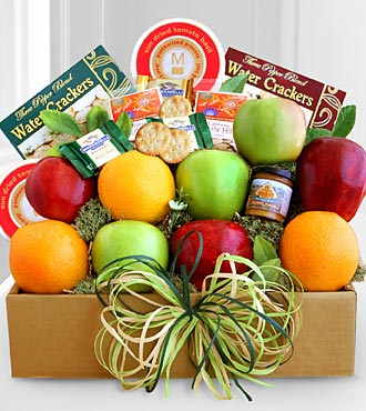 Fruit & Cheese Gourmet Gift Box - Best