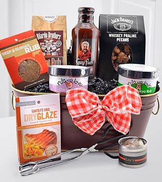 Happy Father's Day Barbeque Gourmet Gift Basket