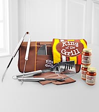 King of the Grill Barbecue Set