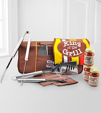 King of The Grill Father's Day Barbecue Set - Good