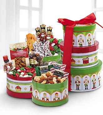 Holiday Nutcracker Tower of Treats