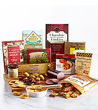 Autumn Delight Deluxe Cheese and Snack Board