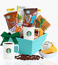 Starbucks ® Sunrise Surprise Basket