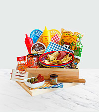 Backyard Barbeque Gift Crate