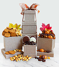 Fall Sweets Tower