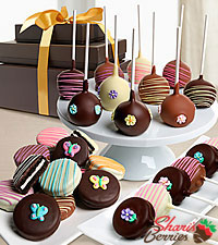Shari 's Berries™ Limited Edition Chocolate Dipped Mother 's Day Tower of Treats