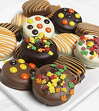 Belgian Chocolate Dipped Harvest Fun Oreo ® Cookies