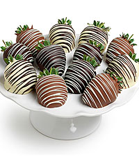 Classic Belgian Chocolate Covered Strawberries - 6pc
