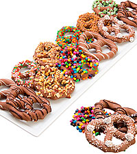 Ultimate Belgian Chocolate Covered Pretzel Twists