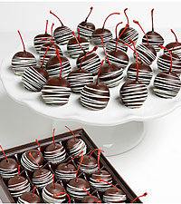 Classic Belgian Chocolate Covered Maraschino Cherries