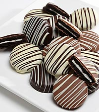 Golden Edibles™ Classic Belgian Chocolate Covered Oreo® Cookies - 15-piece