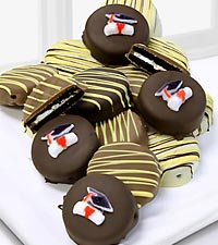 Golden Edibles™ Graduation Celebration Belgian Chocolate Covered Oreo® Cookies - 15 piece