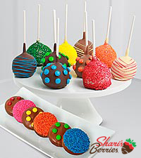 Shari 's Berries™ Limited Edition Chocolate Dipped Cake Pops & Oreo ®