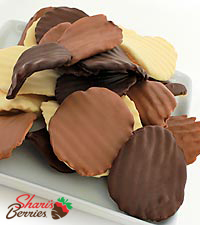 Shari 's Berries™ Limited Edition Chocolate Dipped Potato Chips