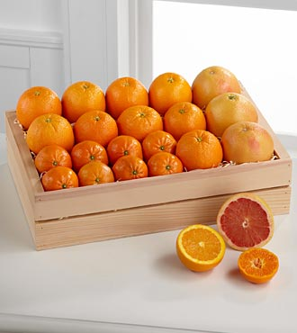 Simply Citrus Gift Basket - Best