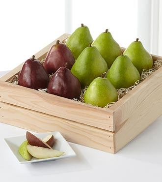 Perfect Pear Gift Basket - Good