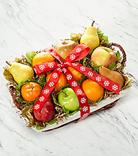 Fruitful Tidings Holiday Fruit Basket