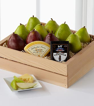 Perfect Pear Gift Basket - Better