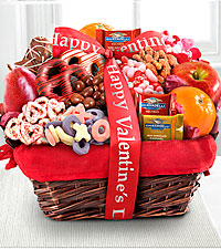 Lovely Day Valentine Gourmet Gift Basket-Good