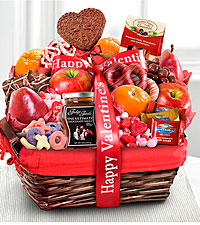 Lovely Day Valentine Gourmet Gift Basket - Better