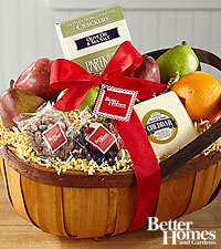 The FTD ® Assorted Gift Basket by Better Homes and Gardens ®