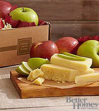 The FTD ® Better with Cheddar Gourmet Fruit & Cheese Box by Better Homes and Gardens ®