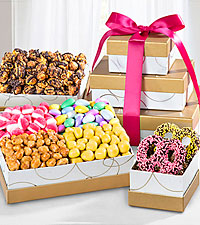Spring 's the Thing Gourmet Gift Tower
